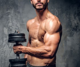 Exercise the perfect muscle Stock Photo 02