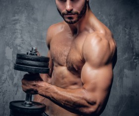 Exercise the perfect muscle Stock Photo 03