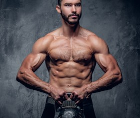Exercise the perfect muscle Stock Photo 04
