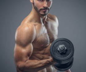 Exercise the perfect muscle Stock Photo 05