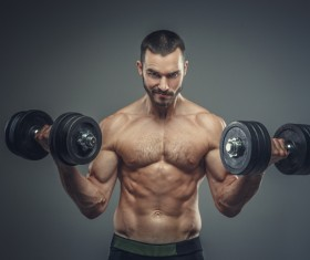 Exercise the perfect muscle Stock Photo 06