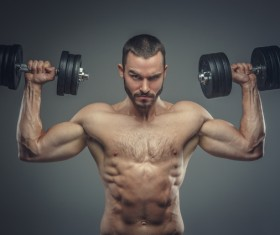 Exercise the perfect muscle Stock Photo 07