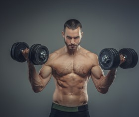 Exercise the perfect muscle Stock Photo 08