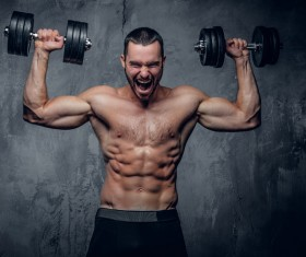Exercise the perfect muscle Stock Photo 09