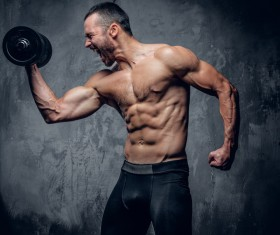 Exercise the perfect muscle Stock Photo 10