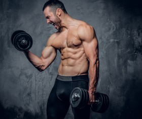 Exercise the perfect muscle Stock Photo 11