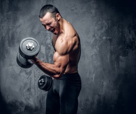 Exercise the perfect muscle Stock Photo 12