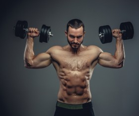 Exercise the perfect muscle Stock Photo 13