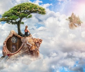Fantastic castle Traveling in a dream HD picture 02