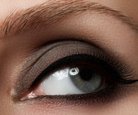 Fashion eye shadow and eye makeup Stock Photo 02
