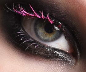 Fashion eye shadow and eye makeup Stock Photo 03