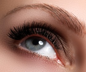Fashion eye shadow and eye makeup Stock Photo 06