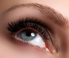 Fashion eye shadow and eye makeup Stock Photo 06