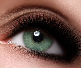 Fashion eye shadow and eye makeup Stock Photo 07