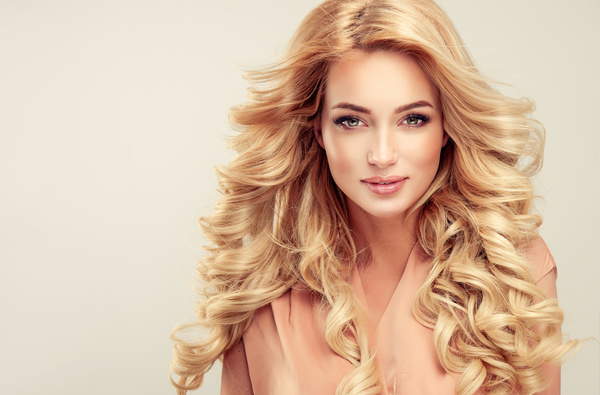 Fashion Girl Makeup And Beautiful Hair HD Picture 04 Free