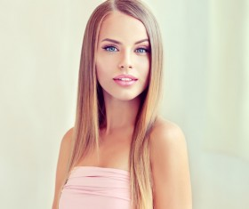 Fashion girl makeup and beautiful hair HD picture 05