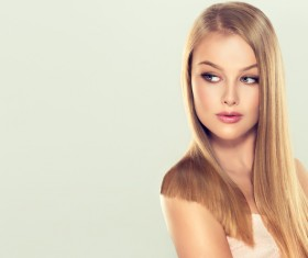 Fashion girl makeup and beautiful hair HD picture 06