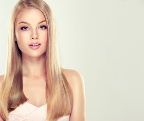 Fashion girl makeup and beautiful hair HD picture 08