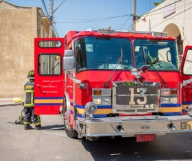Fire Trucks Stock Photo 04