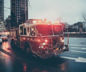 Fire Trucks Stock Photo 08