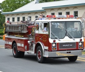 Fire Trucks Stock Photo 10