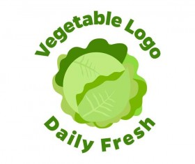 Fresh vegetables logo design vector 09