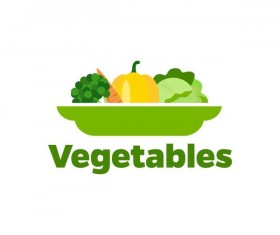 Fresh vegetables logo design vector 10