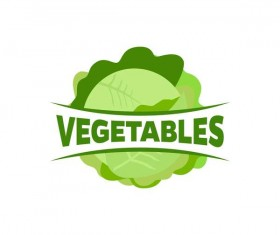 Fresh vegetables logo design vector 11