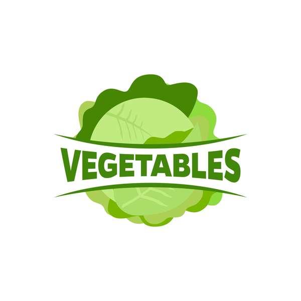 Fresh vegetables logo design vector 11