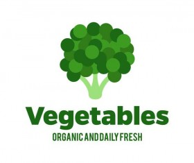 Fresh vegetables logo design vector 13