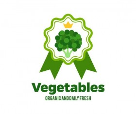 Fresh vegetables logo design vector 14