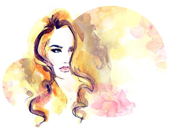 Pop Art girl with the speech bubble. Pop Art background.Party ...