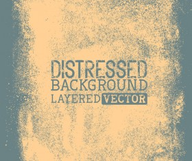 Gray grunge background layered vector