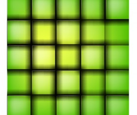 Green lattice background vector