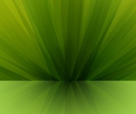 Green visual impact abstract background vector