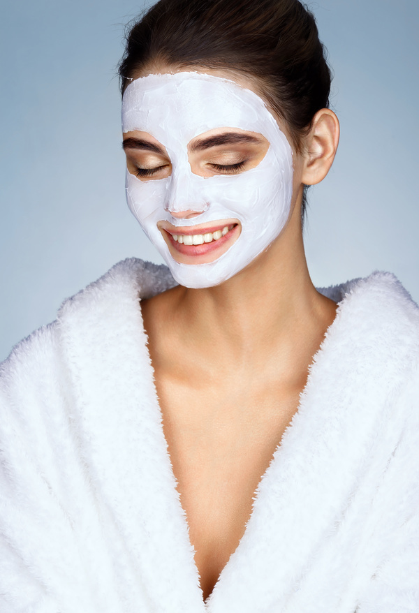 Happy Girl Beauty Skin Care Hd Picture 01 Free Download
