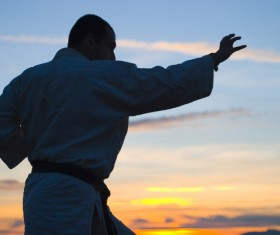 Karate training HD picture 03