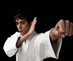 Karate training HD picture 04
