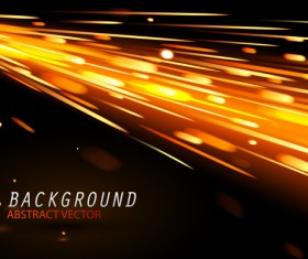 Light effect abstract backgrounds vectors 01