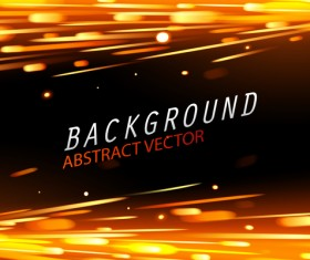 Light effect abstract backgrounds vectors 02