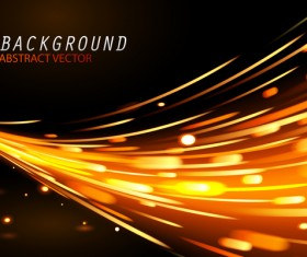 Light effect abstract backgrounds vectors 03