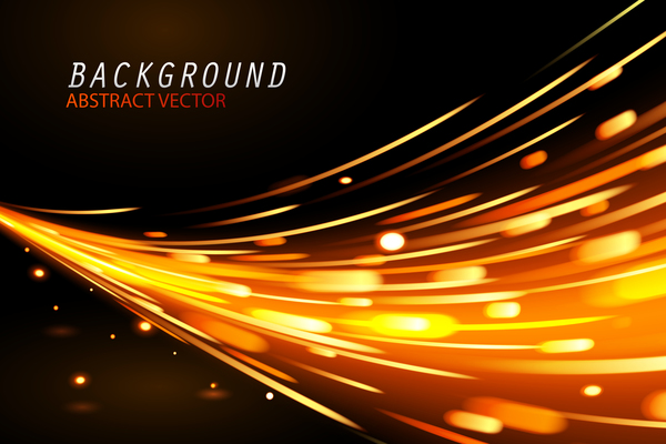Abstract Technology Background With Light Effect: Light Effect Abstract Backgrounds Vectors 03 Free Download