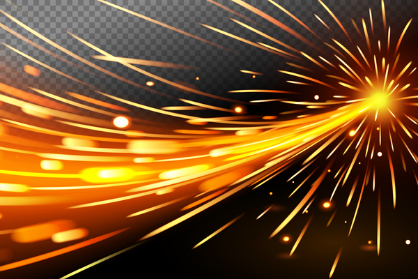 Abstract Technology Background With Light Effect: Light Effect Abstract Backgrounds Vectors 04 Free Download