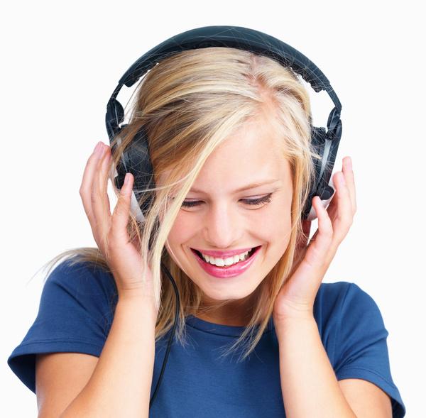 Listen To Music Girls Stock Photo Free Download