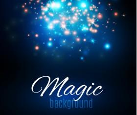 Magic light shine background vector 05