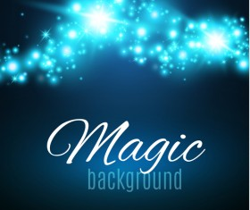 Magic light shine background vector 07