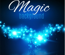 Magic light shine background vector 08