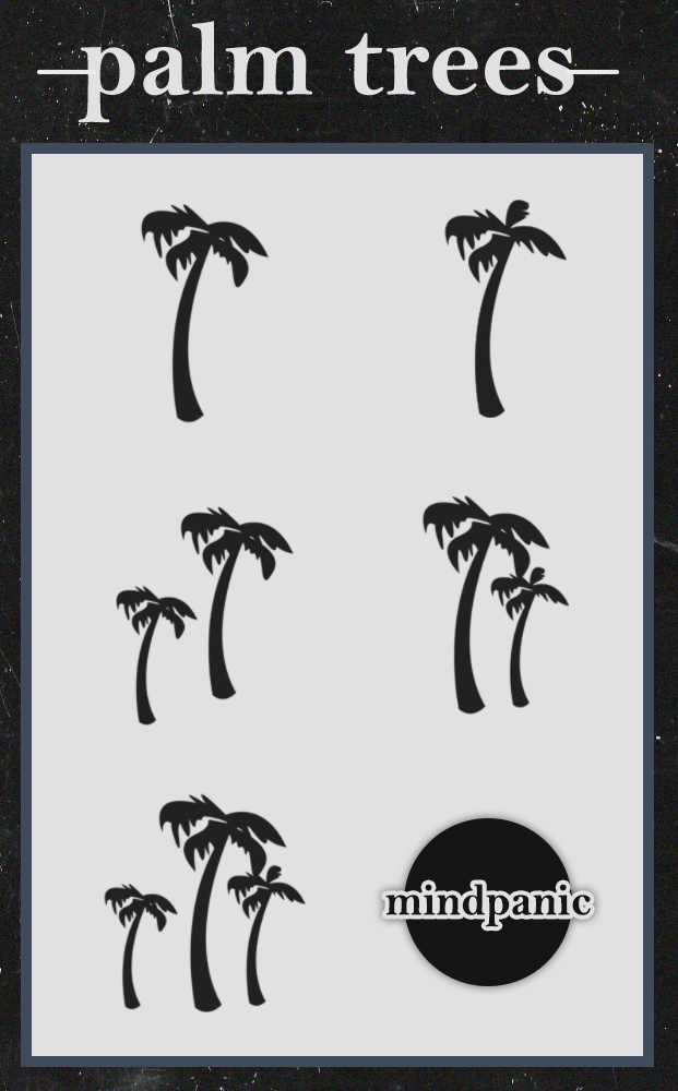 Palm Tree Photoshop Brushes Free Download
