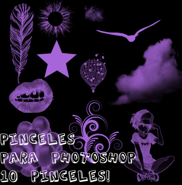 Pinceles para photoshop brushes
