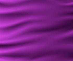 Purple smooth silk background vector 01